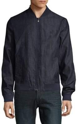 Original Penguin Denim Bomber Jacket