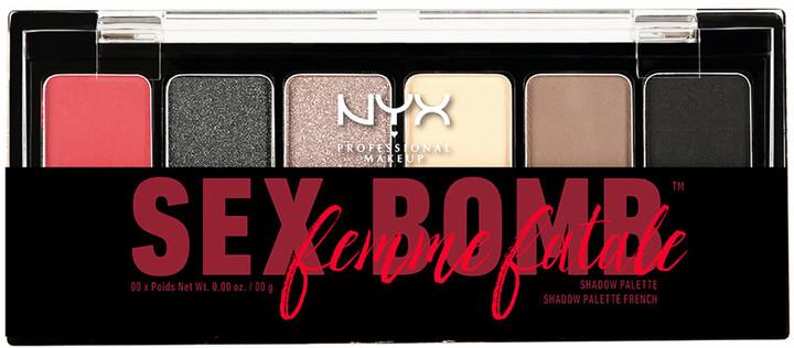 NYX The Sex Bomb Femme Fatale Shadow Palette