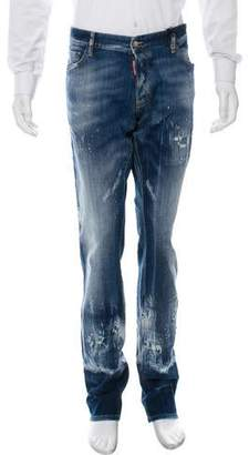 DSQUARED2 Distressed Slim Jeans w/ Tags