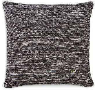 """Lacoste Paris Textured Stripe Decorative Pillow, 18"""" x 18"""""""