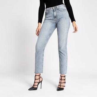 River Island Womens Light Blue straight leg jeans