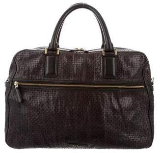 Paul Smith Perforated Leather Satchel