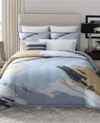 Vince Camuto Home Capri King 3 Piece Duvet Set Bedding