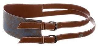 Gucci Leather Bicolor Belt