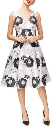 Betsey Johnson Floral Jacquard Dress