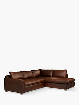 35b5ad47378 John Lewis   Partners Tortona Leather RHF Chaise End Sofa