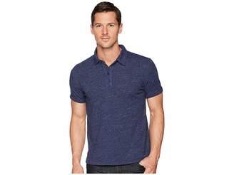 Lucky Brand Linen Polo Shirt Men's Clothing