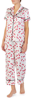 Kate Spade Cherry Toss Short-Sleeve Pajama Set