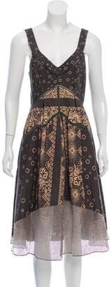 Timo Weiland Sleeveless Printed Dress