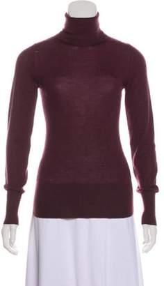 Marc Jacobs Lightweight Turtleneck Sweater Plum Lightweight Turtleneck Sweater