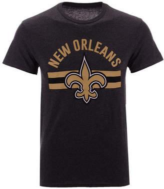 Authentic Nfl Apparel Men's New Orleans Saints Checkdown T-Shirt