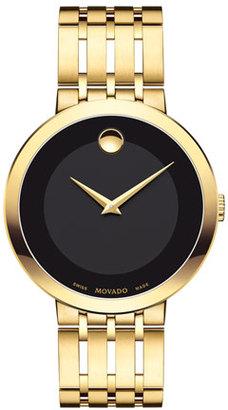 Movado 39mm Esperanza Watch, Gold $1,295 thestylecure.com