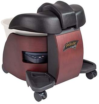 CONTINUUM PediCute Portable Foot Spa - Eco-Friendly & Mobile Foot Bath/Like a Full Size Pedicure Spa (No Plumping Needed)