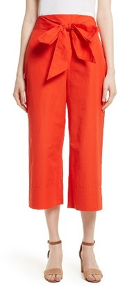 Women's Kate Spade New York Tie Front Culottes $228 thestylecure.com