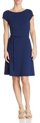 Majestic Filatures Belted Mini Dress