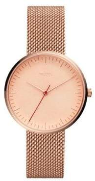 Fossil The Minimalist Three-Hand Leather-Strap Watch