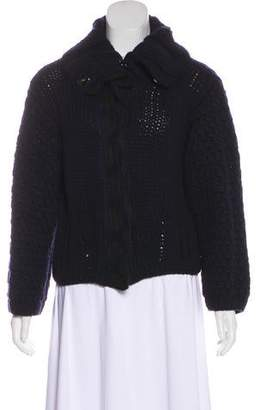 Christian Lacroix Wool & Cashmere Knit Jacket