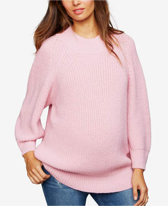 Central Park West Maternity Crew-Neck Sweater