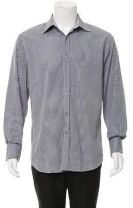 Paul Smith Woven French Cuff Shirt
