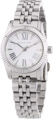 Michael Kors Women's Lexington MK3228 Silver Stainless-Steel Quartz Watch