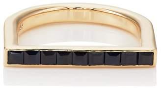 Ring Black Hirotaka Women's Black Sapphire Ring