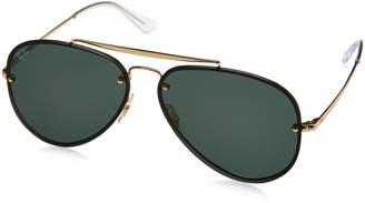 Ray-Ban Blaze Non-Polarized Iridium Aviator Sunglasses