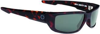 SPY Dirty Mo Matte Camo Tortoise Happy Gray Green 670937995863 Sunglasses