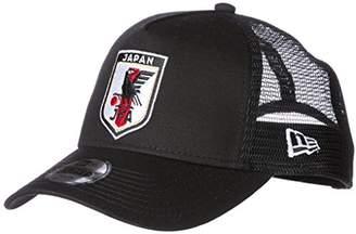 New Era (ニュー エラ) - [ニューエラ] サッカー 940 A-Frame Trucke JFA オフィシャルロゴキャップ [キッズ] 11599567 ブラック 日本 OSFA (FREE サイズ)