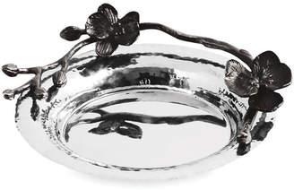 Michael Aram Black Orchid Wine Coaster