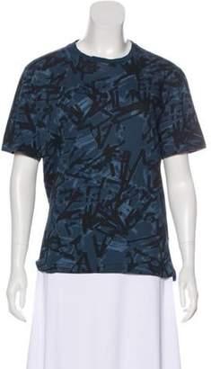 Lanvin Abstract Print T-Shirt black Abstract Print T-Shirt