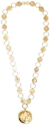 Chloé Emoji Charm Necklace - Womens - Gold