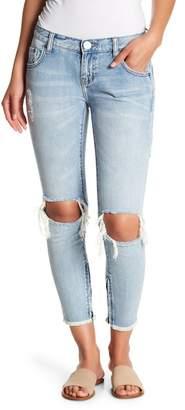 One Teaspoon Freebirds Low Rise Frayed Hem Jeans