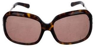 Tory Burch Tortoise Oversize Sunglasses