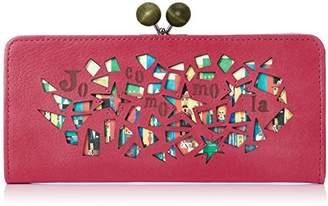 Jocomomola (ホコモモラ) - [ホコモモラ] 長財布 「マヒア」がま口型長財布 5381304 32 ピンク
