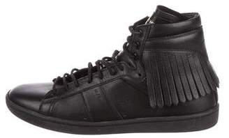 Saint Laurent Kiltie Court Classic Sneakers