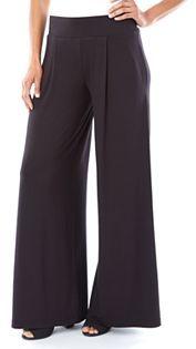 Women's Apt. 9® Pleated Wide-Leg Dress Pants $36 thestylecure.com