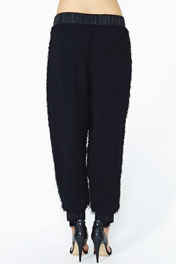 Nasty Gal Collection Flutter Effect Track Pant