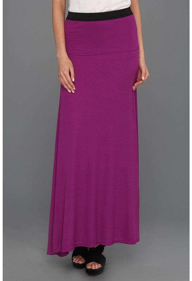 BCBGMAXAZRIA Karolin Maxi Skirt (Magenta) - Apparel