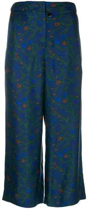 Christian Wijnants Parish Ceramics cropped trousers