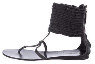 Vicini Woven Thong Sandals