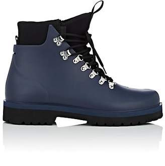 Barneys New York Men's Rubber & Neoprene Hiking Boots - Navy
