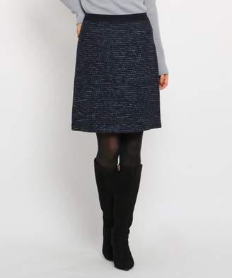 INDIVI (インディヴィ) - INDIVI [S]セミAラインツイードスカート