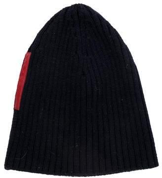 483e529b84b Prada Sport Wool Rib-Knit Beanie