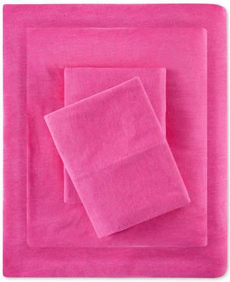 Jla Home Intelligent Design 4-Pc. Jersey-Knit Queen Sheet Set Bedding