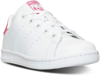 adidas Little Girls' Stan Smith Casual Sneakers from Finish Line $54.99 thestylecure.com