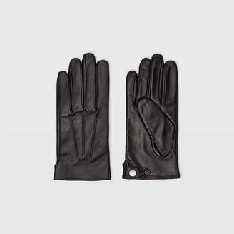 Club Monaco Leather Snap Glove