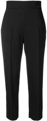 Elisabetta Franchi cropped tapered trousers