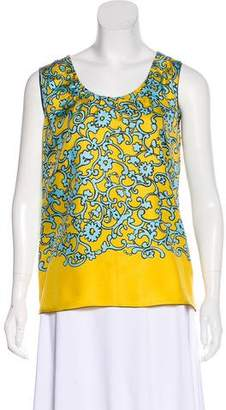 Marc Jacobs Silk Printed Top