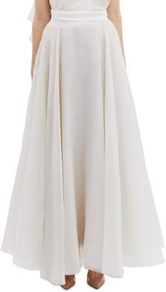 Maticevski 'Heaven Float' drape silk organza skirt