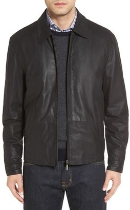 Men's Missani Le Collezioni Lambskin Leather Jacket $599 thestylecure.com